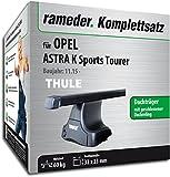 Rameder Komplettsatz, Dachträger SquareBar für Opel Astra K Sports Tourer (137082-14870-1)