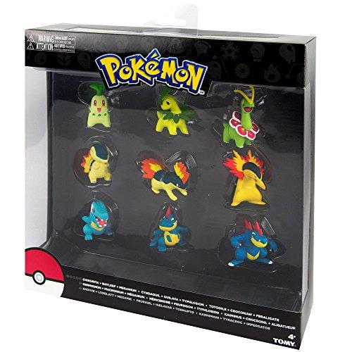Pokémon - Evolución Pack 9 Figuras (Bizak 30699050)