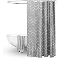 Amazon Co Uk Striped Shower Curtains Shower Curtains Hooks