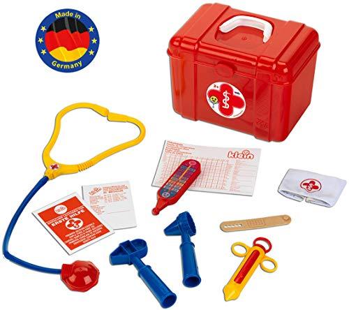 Theo Klein-4430 Maletin médico box, juguete, Multicolor (4430)