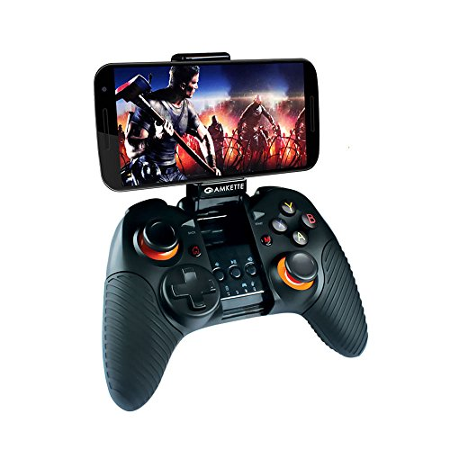 Amkette Evo Gamepad Pro 2 (Bluetooth Wireless Controller for Android Smartphone and Tablets) (Not Compatiable with iPhone)