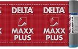 Dörken Delta Maxx Plus 75qm Unterspannbahn 1x diffusionsoffene selbstklebende Unterdeckbahn für Steil-Dach