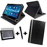 3in1 Set Tablet Tasche - O2 LTE Tablet Huawei MediaPad T1 10.0 24,4 cm 9,6
