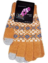 Touch Screen Phone Magic Smart Gloves for iphone ipad Ladies -New- One size Beige free uk p&p