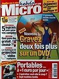 MICRO HEBDO [No 339] du 14/01/2004 - ORGANISEZ VOS MUSIQUES AVEC REALPLAYER 10 - 5 LOGICIELS POUR GERER VOS COMPTES - QUEL PARE-FEU GRATUIT CHOISIR - LES TECHNIQUES DE PROJECTION VIDEO - PORTABLES....
