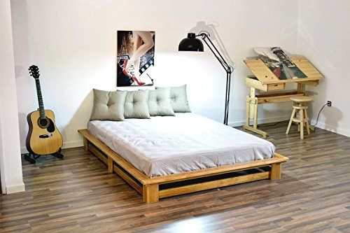 Letto Futon Matrimoniale : Abc meubles letto matrimoniale futon alteb alteb miele