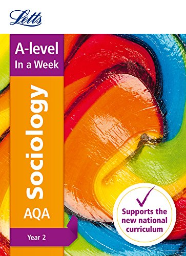 Letts A-level Revision Success – AQA A-level Sociology Year 2 In a Week