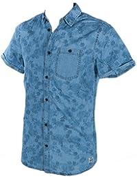 Blend - Cilien copen blue shirt - Chemise manches courtes