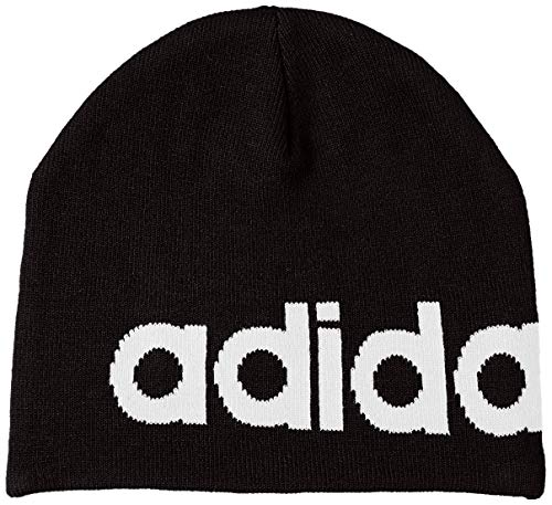 adidas Hat DAILY BEANIE, black/white, One Size, DM6185 -