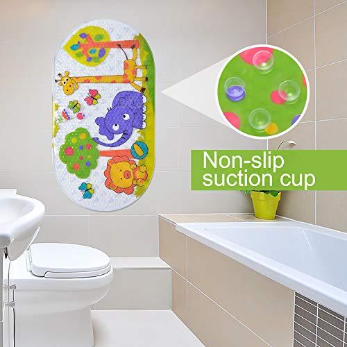 Badematte für Kinder, Rutschfest, antibakteriell, für Babys und Kleinkinder