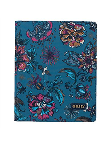 Oilily Sea of Flowers iPad 2 & 3 Case - Deep Ocean