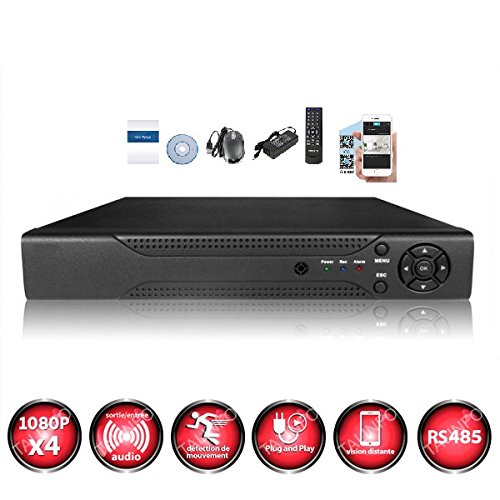 Kit-videovigilancia-2-Cmaras-Pro-Full-AHD-1080P-Sony-24-MP–incluye-1000-GB-1-cable-de-40-M-1-x-20-m-pantalla-22