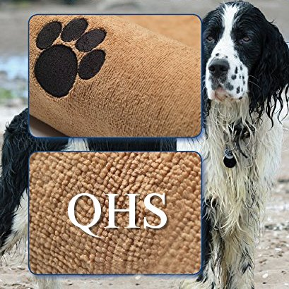 Super-saugfähiges, 140x70cm professionelles Haustier/Hundehandtuch aus Mikrofaser