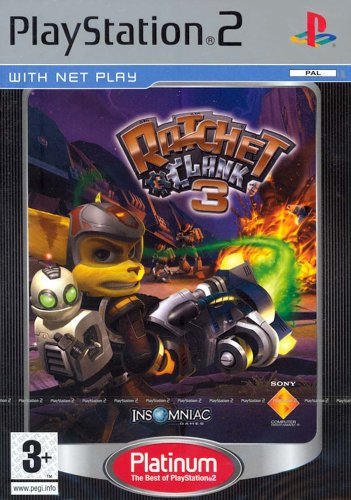Ratchet & Clank 3: Platinum (PS2) [Importación inglesa]