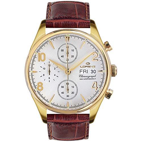 Reloj cronógrafo Hombre Lorenz 1934Trendy cód. 030110cc