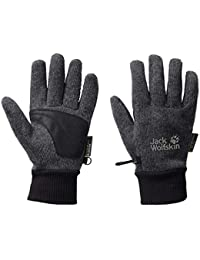 Jack Wolfskin Handschuhe Knitted Stormlock - Guantes, color phantom, talla M