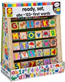 ABC 123 First Words Wood Blocks