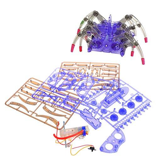 sche spinne Roboter DIY montiert spinne Modell kit Handarbeit pädagogisches gebäude Roboter Spielzeug ()