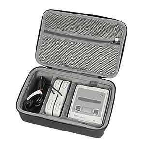 Hart Reise Schutz Hülle Etui Tasche für Nintendo Classic Mini: Super Nintendo Entertainment System von co2CREA