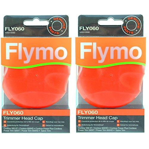 Flymo Multi Trim 250D 250dx 300D 300DX Rasentrimmer Trimmer Head Gap (FLY060, 2Stück) (Multi-cutter Head)
