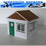 Greenhills Scalextric Slot Car Building First Aid Hut Kit 1:32 Scale