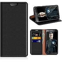 Funda Samsung Galaxy Note 3, Mobesv Funda Cuero, Carcasa en libro, Ranuras para Tarjetas, Soporte Para Samsung Galaxy Note 3 - Negro
