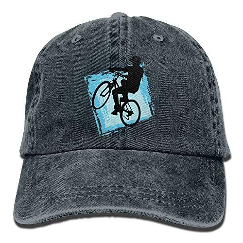 Preisvergleich Produktbild QIOOJ Mountain Bike Sport Denim Hat Adjustable Womens Casual Baseball Caps