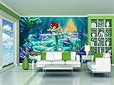 AG Design, Stampa Fotografica Decorativa da Parete, Motivo: Disney, Principessa Ariel, Multicolore (Bunt)