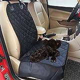 Taux de feuillets chien Housse étanche Pet Tapis Seau seule pour siège avant voiture chien Pet Seat Protector (Noir)