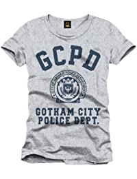 Batman T-Shirt Gotham City Police Department Logo (grau)