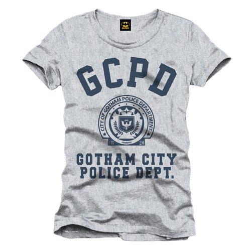 Batman Maglietta Maglia T Shirt GCPD Size S CODI