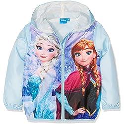 Disney Frozen Beautiful Frozen, Abrigo para Niños, Azul, 4-5 Años