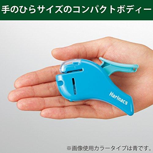Kokuyo Hefter Harinacs Compact Alpha, schwarz (sln-msh305db) - 7