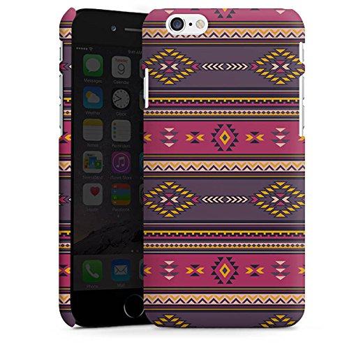 Apple iPhone X Silikon Hülle Case Schutzhülle Ethno Indianer Azteken Muster Premium Case matt