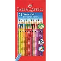 Faber-Castell 112424 - Farbstift Colour Grip Kartonetui 24er