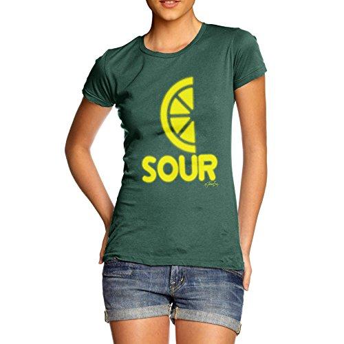 TWISTED ENVY  Damen T-Shirt Flaschengrün