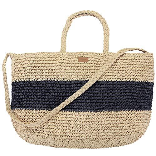 Barts Damen Shopper Windang Beach Bag navy (beige navy) - Barts-kollektion