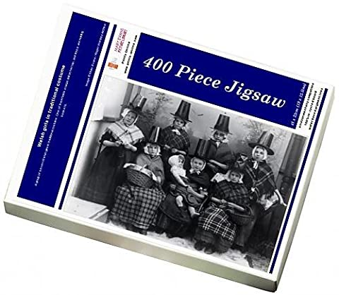 Photo Jigsaw Puzzle of Welsh girls in traditional