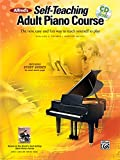 Alfred Self Teaching Adult Piano Course --- Piano --- Alfred Publishing