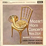 "SWL 8011 BARRY TUCKWELL Mozart Horn Concerto 2 & 4 10"" vinyl LP"