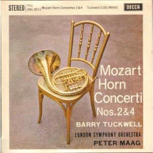 "SWL 8011 BARRY TUCKWELL Mozart Horn Concerto 2 & 4 10"" vinyl LP"