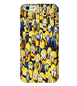 Citydreamz Minions/Funny Cartoons Hard Polycarbonate Designer Back Case Cover For Apple Iphone 6/6S