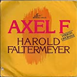 "Harold Faltermeyer Axel F + Shoot Out France (French) 45 7"" sgl +Picture Sleeve"