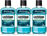 Listerine Cool Mint Mouthwash Removes 99.9% Germs, 250ml (Buy 2 Get 1 Free)