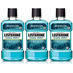 Listerine Cool Mint Mouthwash 250ml (Buy 2 Get 1 Free)