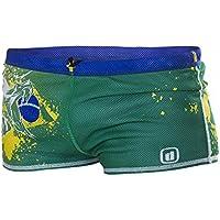 Disfraz Frenante dragshort National Pride, BRAZIL