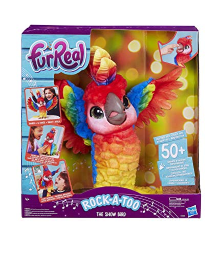 Hasbro FURREAL Friends E0388EU5 FRR Rock A Too The Show Bird, Rosa