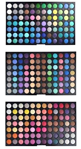PhantomSky 252 Colores Sombra De Ojos Paleta de Maquillaje Cosmética - Perfecto para Uso Profesional y Diario