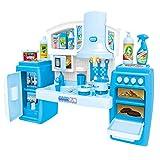 PUDDINGT® Tragbare Elektronische Kinder Kinderküche Kochen Mädchen Toy Cooker Play Set,Blue