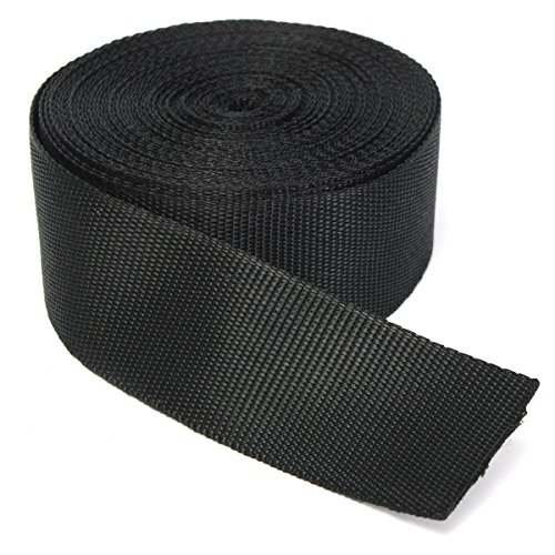 51PAVzodz7L. SS500  - KING DO WAY Nylon Webbing Tape Multi-purpose For DIY Craft Backpack Strapping Apron Bunting Black 5cmx10m